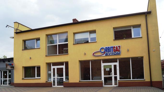 Orbitgaz Bytom - Siedziba firmy